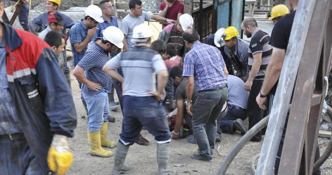 Madende göçük: Ölü ve yaralılar var!