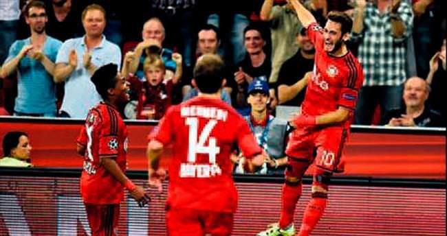 Hakanlı Leverkusen Şampiyonlar Ligi'nde
