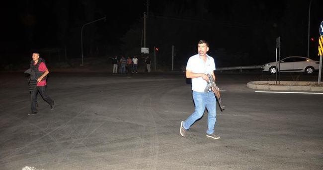 Osmaniye'de PKK'dan polis aracına roketli saldırı!