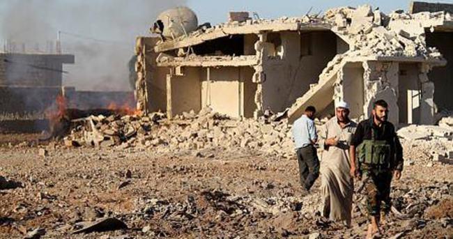 Halep'te muhaliflerle DAEŞ arasındaki çatışmalar