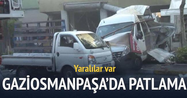 Gaziosmanpaşa'da patlama: Çok sayıda yaralı