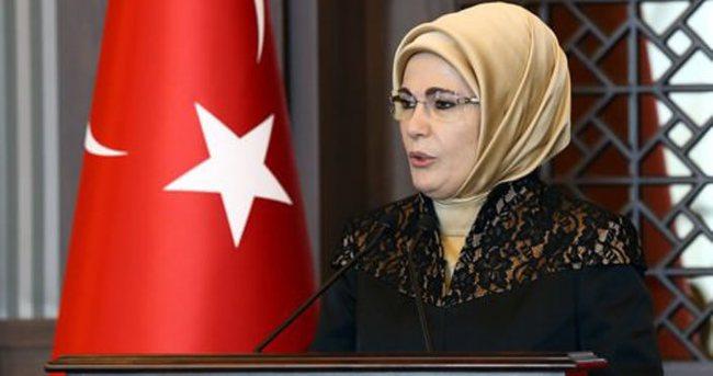 Emine Erdoğan kadın korucuları kabul etti