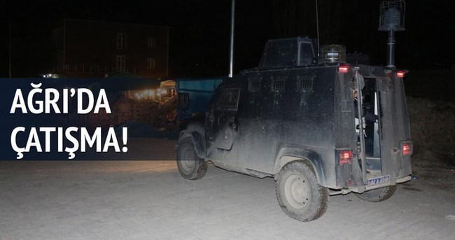 Ağrı'da polis aracına silahlı saldırı