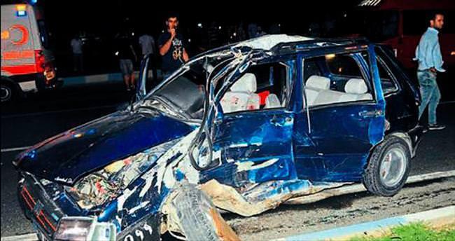 Ambulans kazasında 1 kişi öldü, beş yaralı