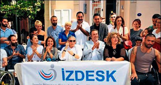Engellilerin oynadığı film İzmir'de çekiliyor