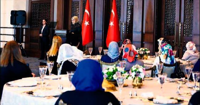 Emine Erdoğan kadın korucuları ağırladı