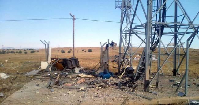 Karakoçan'da PKK baz istasyonuna saldırdı!