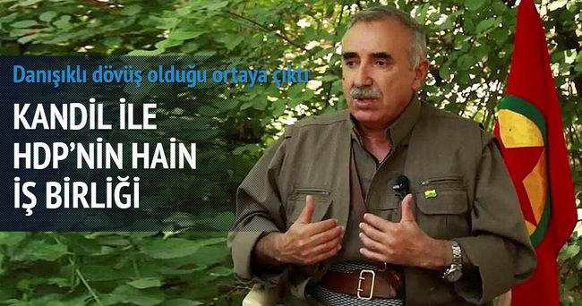 Kandil ile HDP arası şer ortaklığı