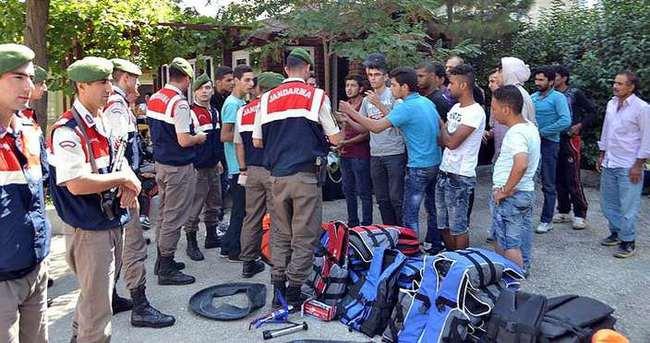 Edirne'de 126 kaçak yakalandı