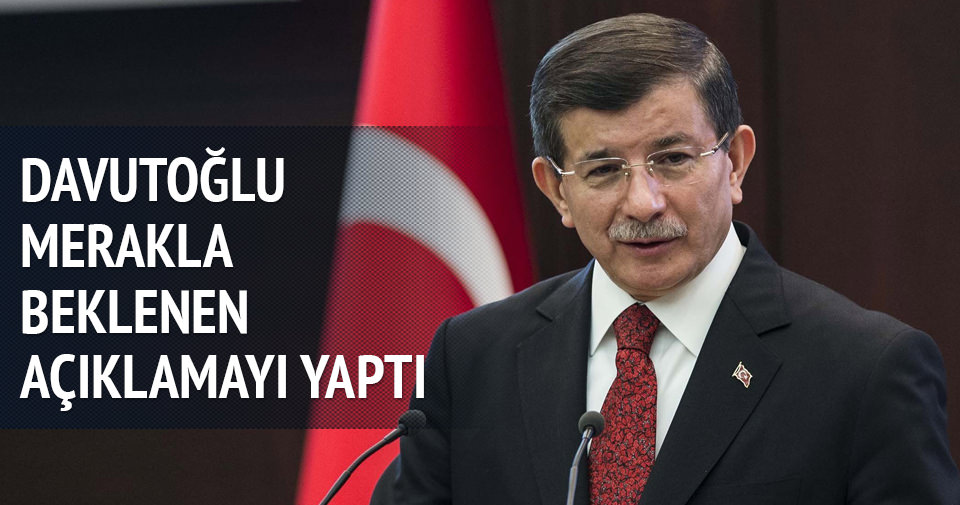 Davutoğlu: Yeni hükümeti bugün Erdoğan'a takdim edeceğim
