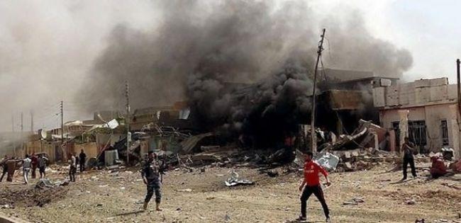 Irak'ta polis karakolunda patlama