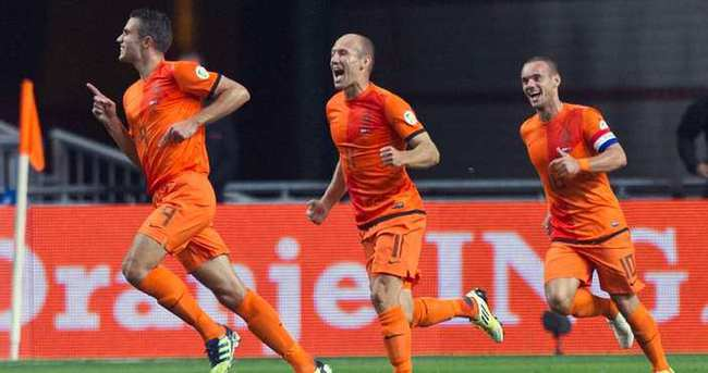 Hollanda'nın nihai kadrosu açıklandı