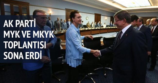AK Parti MYK ve MKYK Toplantısı başladı