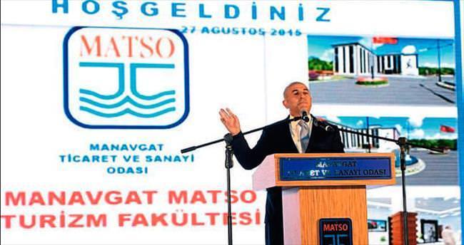 Manavgat Turizm Fakültesi'ne start