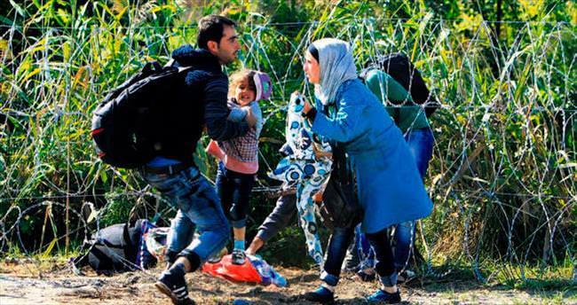 Macaristan sınırında 'o an'