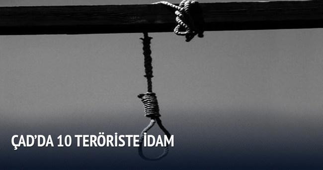 Çad'da 10 kişiye idam cezası