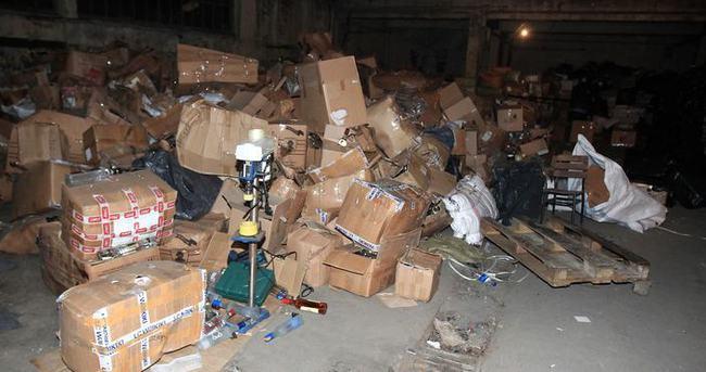 2 milyon paket kaçak sigara imha edildi