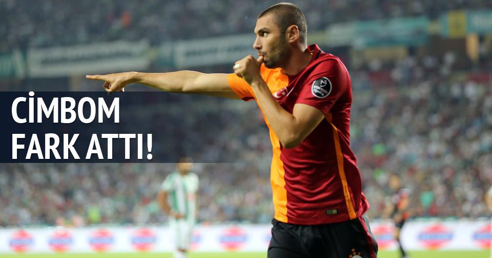 Galatasaray Konya'yı farklı yendi