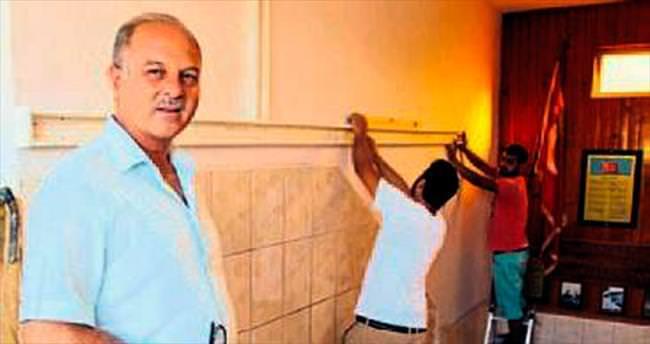 Kemer'de 4 okula Büyükşehir el attı
