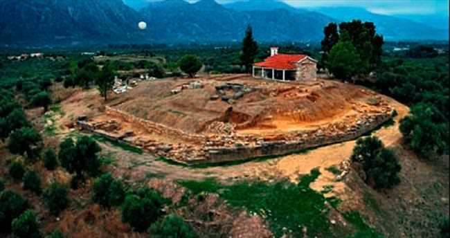 Sparta'nın kayıp sarayı