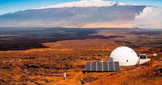 Mars ortamında 1 yıl yaşam savaşı