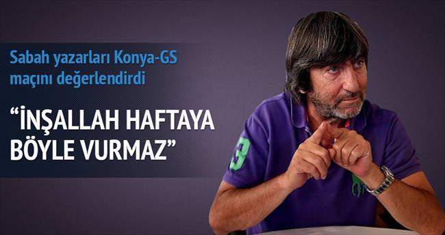 Sabah Yazarları Torku Konyaspor-Galatasaray maçını yorumladı