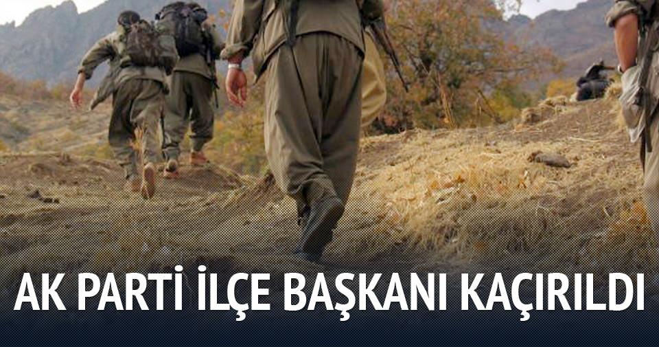 AK Parti İlçe Başkanı kaçırıldı!