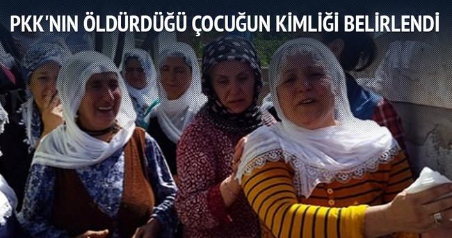 PKK'nın öldürdüğü çocuğun kimliği belirlendi
