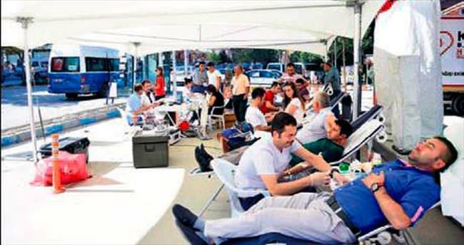 Kazan'da kan bağışı kampanyası
