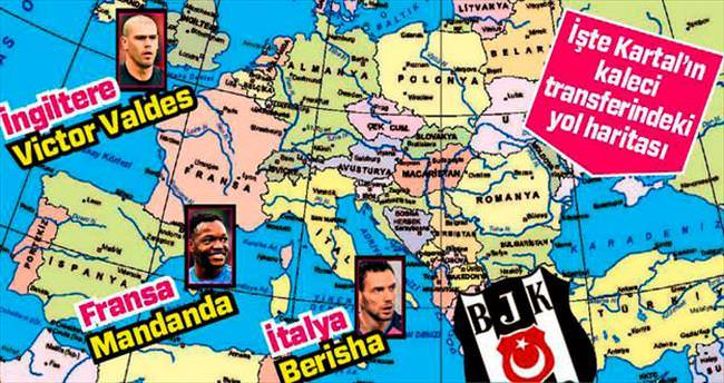 Beşiktaş'ın kaleci turu