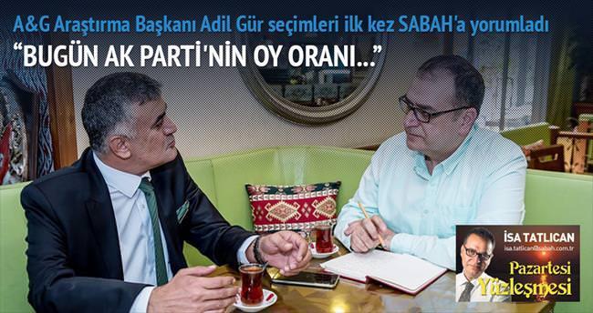 'AK Parti hata yapmazsa tek başına iktidar'