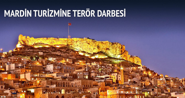 Mardin turizmine terör darbesi