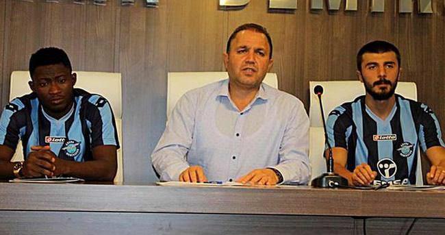 Adana Demirspor'da 2 transfer