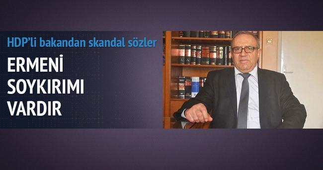 HDP'li Konca: Ermeni katliamı yapılmıştır