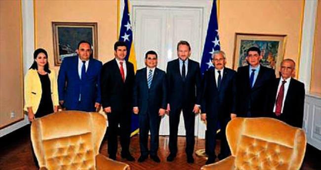 AKBB üyeleri Bosna Hersek'te