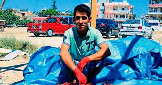 Adana'da salçalık biber sezonu başladı