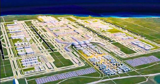 Araplar 3'üncü Havalimanı'na gelecek