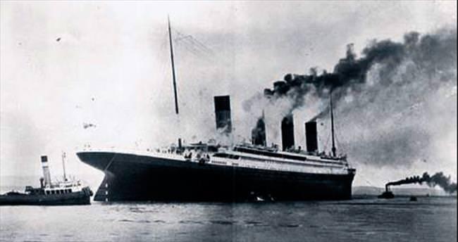Titanic'in son mönüsü ve hamam bileti satılık