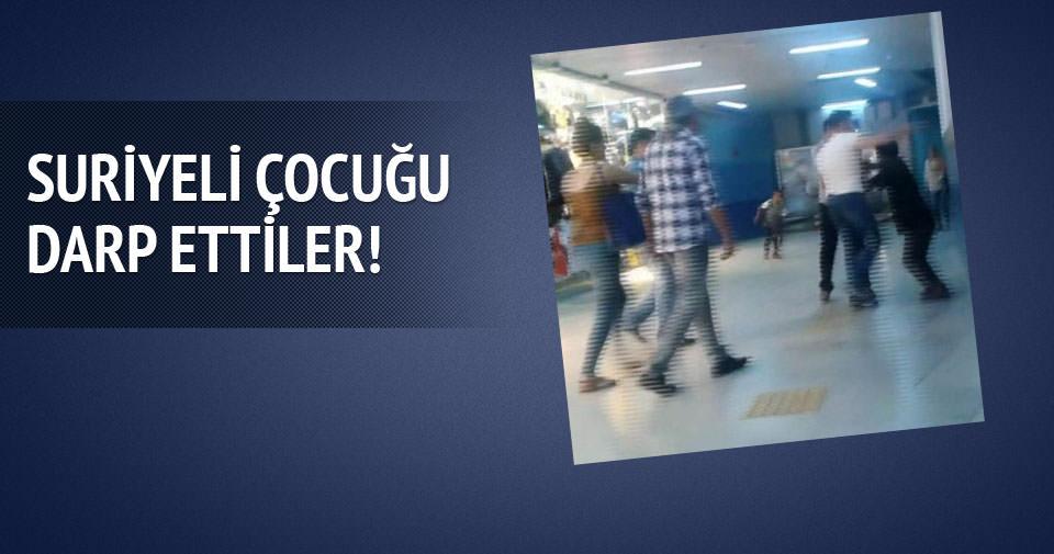 Ankara metrosunda Suriyeli çocuk darp edildi