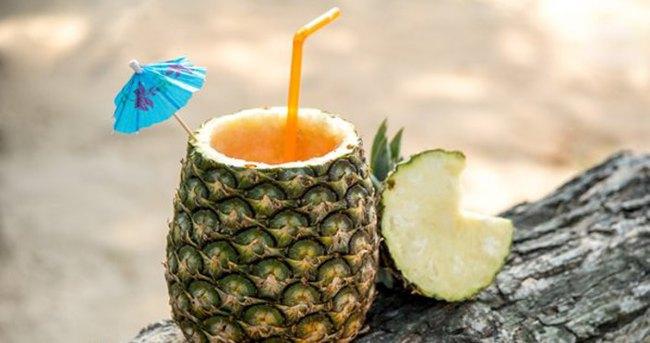 Ananas suyu ile yağlarınızdan kurtulun