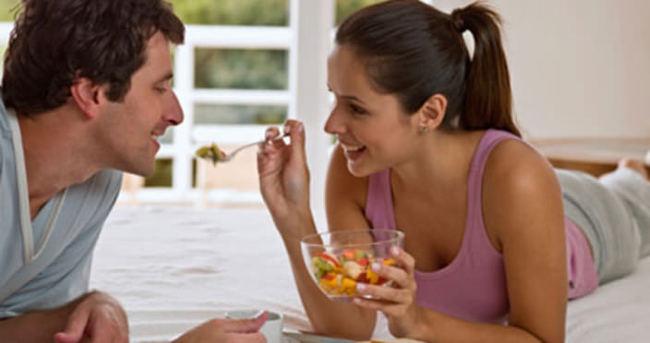 Evlendikten sonra kilo almamak için bunlara dikkat