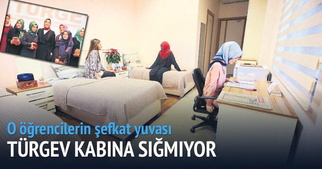 Kız öğrenciler TÜRGEV'le büyüyor