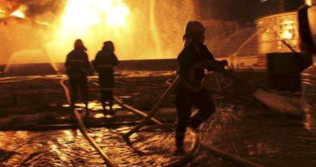 Çin'de kimyasal fabrikası patladı