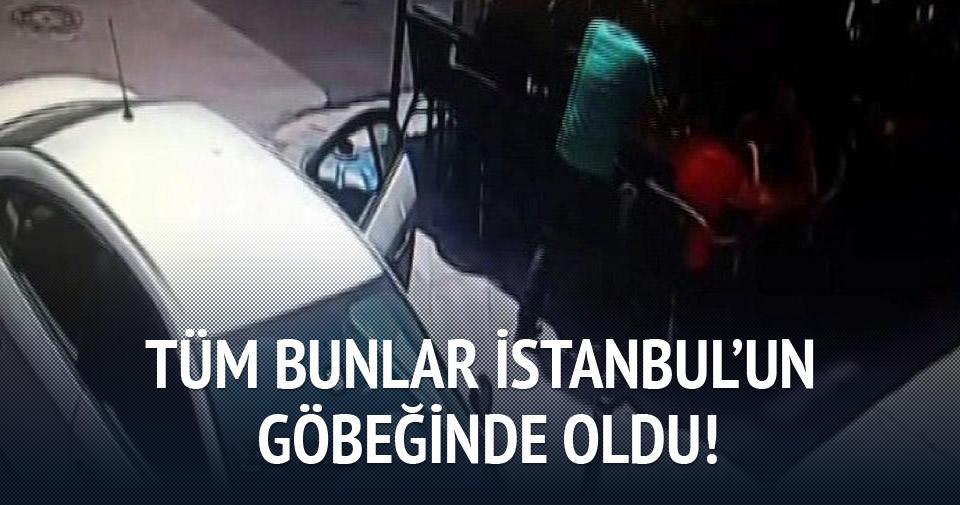 İstanbul'un göbeğinde akılalmaz kapkaç!