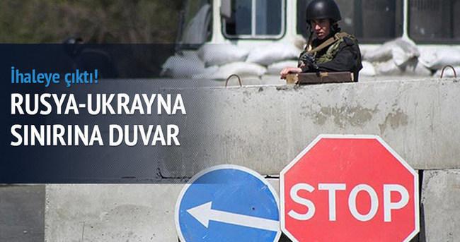 Rusya ile Ukrayna sınırına duvar