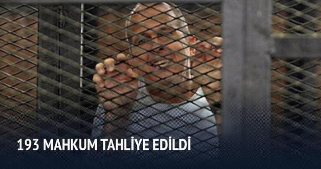 193 mahkum tahliye edildi