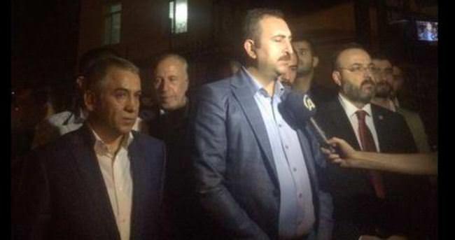 AK Parti heyeti Diyarbakır'dan ayrıldı!