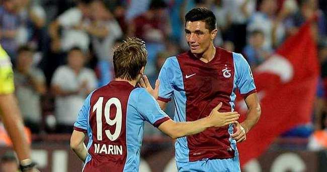 Trabzonspor'da Cardozo-N'Doye rekabeti