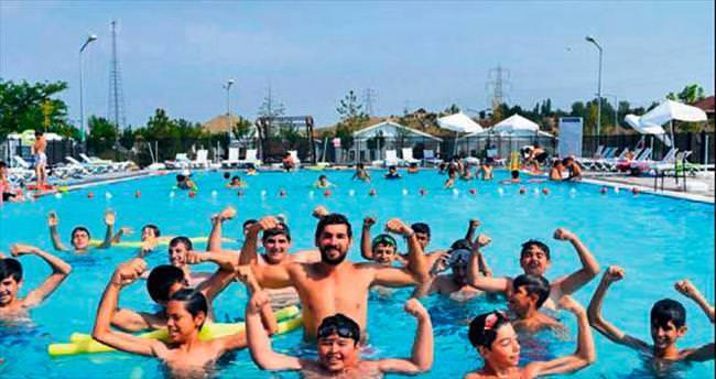 Yaz kampında 6 bin 550 konuk