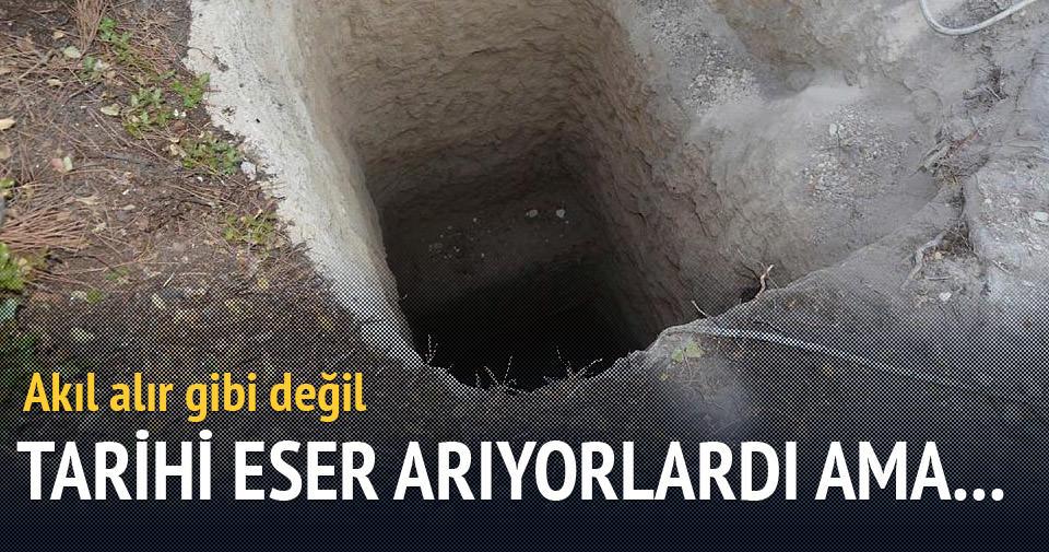 Manisa'da kaçak kazı faciası: 1 ölü